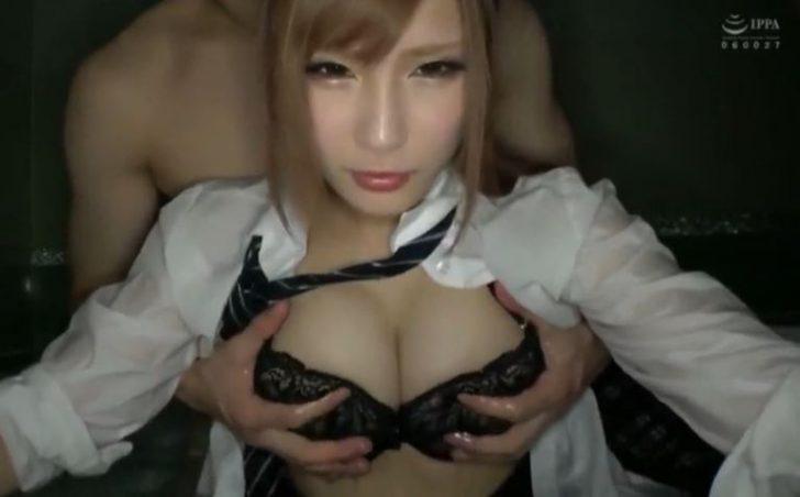 【SS級美少女jk】まじでかわいいヤンキー巨乳ギャル女子高生と風呂でセックス!これは可愛すぎて勃起不可避w
