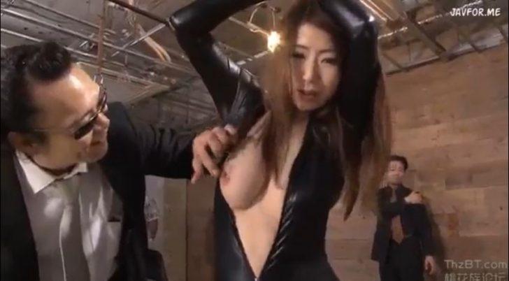 【篠田あゆみ×レイプ】男「いい乳してんじゃねえか!」組織に捕えられた巨乳美人女捜査官がおもちゃのように犯される!これが任務に失敗した女の末路か・・すごく抜けるw