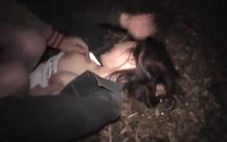 【巨乳×レイプ】「やめて!離して!」ストーカーに茂みに巨乳お姉さんが連れ込まれて服脱がされて犯される!デカパイ揉まれまくってその場で挿入される!